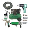Speedaire PEAC - ACC 2.0 HP,  115/230VAC,  20 gal. Portable Electric Air Compressor Combo with Accessories,  135 psi