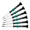 Wera 5345270001 Precision Driver Set, Slotted, 6pcs