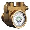 Fluid-O-Tech PB0801ANDNN0000 Rotary Vane Pump, Low Lead Brass, 4 gpm