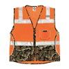 Ml Kishigo 1524-4X Safety Vest, 4XL, Orange, Male