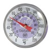 Taylor 6092NPR Thermometer, Purple Coded, 0 to 220F
