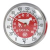 Taylor 6092NRD Thermometer, Red Coded, 0 to 220F