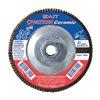 """United Abrasives-Sait 78320 4-1/2"""" Flap Disc,  5/8""""-11,  36 Grit,  Type 27 Zirconia Alumina,  Ovation Ceramic Series"""