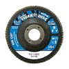"Weiler 50803V 4-1/2"" Flap Disc,  7/8"",  40 Grit,  Type 27 Zirconia Alumina,  Big Cat+?-? Series"