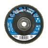 "Weiler 50809V 4-1/2"" Flap Disc,  5/8""-11,  60 Grit,  Type 27 Zirconia Alumina,  Big Cat+?-? Series"