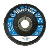 "Weiler 50804V 4-1/2"" Flap Disc,  7/8"",  60 Grit,  Type 27 Zirconia Alumina,  Big Cat+?-? Series"
