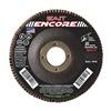 "United Abrasives-Sait 71209 4-1/2"" Flap Disc,  7/8"",  80 Grit,  Type 27 Zirconia Alumina,  Encore Series, Pack of 10"