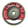 "Weiler 50105V 4-1/2"" Flap Disc,  5/8""-11,  40 Grit,  Type 29 Ceramic,  Saber Tooth  Series"