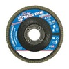 "Weiler 51119V 4-1/2"" Flap Disc,  7/8"",  40 Grit,  Type 29 Zirconia Alumina,  Tiger Paw  Series"