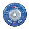 """United Abrasives-Sait 70912 4-1/2"""" Flap Disc,  5/8""""-11,  60 Grit,  Type 29 Zirconia Alumina,  Trimback Series"""