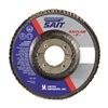 "United Abrasives-Sait 75460 4-1/2"" Flap Disc,  7/8"",  60 Grit,  Type 29 Aluminum Oxide,  Saitlam Series, Pack of 10"