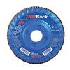 """United Abrasives-Sait 70802 4-1/2"""" Flap Disc,  7/8"""",  60 Grit,  Type 29 Zirconia Alumina,  Trimback Series"""