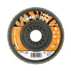 "Weiler 50007V 4-1/2"" Flap Disc,  5/8""-11,  60 Grit,  Type 29 Zirconia Alumina,  Trimmable Tiger+?-? Series"