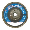 "Weiler 51125V 4-1/2"" Flap Disc,  5/8""-11,  60 Grit,  Type 29 Zirconia Alumina,  Tiger Paw  Series"