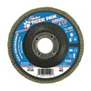 "Weiler 51120V 4-1/2"" Flap Disc,  7/8"",  60 Grit,  Type 29 Zirconia Alumina,  Tiger Paw  Series"