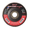 "United Abrasives-Sait 72822 4-1/2"" Flap Disc,  7/8"",  60 Grit,  Type 29 Zirconia Alumina,  Encore Ceramic Series"