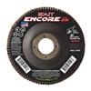 "United Abrasives-Sait 79109 4-1/2"" Flap Disc,  7/8"",  80 Grit,  Type 29 Zirconia Alumina,  Encore Series, Pack of 10"