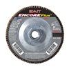 "United Abrasives-Sait 72913 4-1/2"" Flap Disc,  5/8""-11,  80 Grit,  Type 29 Zirconia Alumina,  Encore Plus Series"