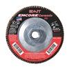"United Abrasives-Sait 72933 4-1/2"" Flap Disc,  5/8""-11,  80 Grit,  Type 29 Zirconia Alumina,  Encore Ceramic Series"
