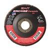 "United Abrasives-Sait 72823 4-1/2"" Flap Disc,  7/8"",  80 Grit,  Type 29 Zirconia Alumina,  Encore Ceramic Series"