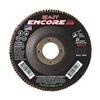"United Abrasives-Sait 71271 7"" Flap Disc,  7/8"",  120 Grit,  Type 29 Zirconia Alumina,  Encore Series"