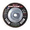 "United Abrasives-Sait 71275 7"" Flap Disc,  5/8""-11,  36 Grit,  Type 29 Zirconia Alumina,  Encore Series"
