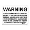 Lyle U6-1051-RA_10X7 Warning Sign, Black/White, 7 in. H, Text