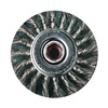"United Abrasives-Sait 03386 Arbor Wire Wheel Brush,  Knot Wire,  6"" Brush Dia."