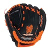 "Rawlings S100NO-6/0 10"" Rh Lthr Glove"