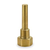 Weksler G1E3D2 Industrial Thermowell, Brass, 1-1/4-18