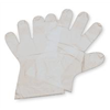 North By Honeywell 74/PD100LZ Disp. Gloves, Polyethylene, L, Clear, PK100
