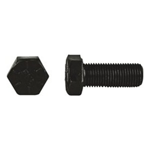 "DrillSpot 9/16""-12 x 1-1/4"" Plain Finish SAE J429 Grade 8 Hex Cap Screw Made In USA, Pack of 25 at Sears.com"