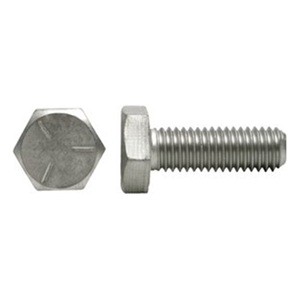 "DrillSpot 9/16""-12 x 1"" Zinc Finish SAE J429 Grade 5 Hex Cap Screw Made In USA, Pack of 25 at Sears.com"