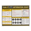 Ghs Hazcom GHS1004 GHS Information Wall Chart 18 x 24