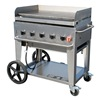 Crown Verity MG-36 Portable Gas Griddle, 5 Burners