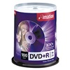 Imation IMN18060 DVD+R Disc, 4.70 GB, 120 min, 16x, PK 100