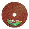 Easy Gardener TR60520-15 Rubber Mulch Tree Ring, Red, 60 In. Dia