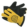 Fire-Dex G03GEMGL_SP-2X Firefighting Gloves, Gold/Black, 2XL, PR