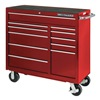 Westward 13R497 Rolling Cabinet, Pro, 41 x 18 x 41 In, Red