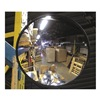 Vision Metalizers Inc PCO1800 Outdr Convex Mirror, 18 Dia, Polycarbonate