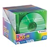 Verbatim VER94611 CD-R Disc, 700 MB, 80 min, 52x, PK 25