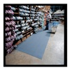 Notrax 410R0324GY Anti-Fatigue Mat, PVC, Gray, 2 x 60 ft