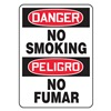 Accuform MSPD50VS Danger No Smoking Sign, 14 x 10In, Text