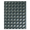 Wearwell 478.12X3X20GY Drainage Mat, CFR, Beveled, 3 x 20 ft, Grey