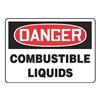 Accuform MCHD55BVP Danger Sign, 7 x 10In, R and BK/WHT, PLSTC