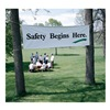 Artisan Controls C630/C10304/3FTX10FT Safety Banner, 3 x 10ft., SAF Begins Here