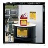 Brady 7281QLS Chemical Label, Mercury, 3.5x5 In