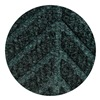 Andersen 22950720023070 Entrance Mat, Rubber/PET, Green, 3 x 2 ft