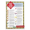 Hazard Communication 4001 Training Poster, 36 x 24In, Text and SYM