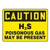 Accuform MCHC07VS Caution Sign, 10 x 14In, BK/YEL, Self-ADH